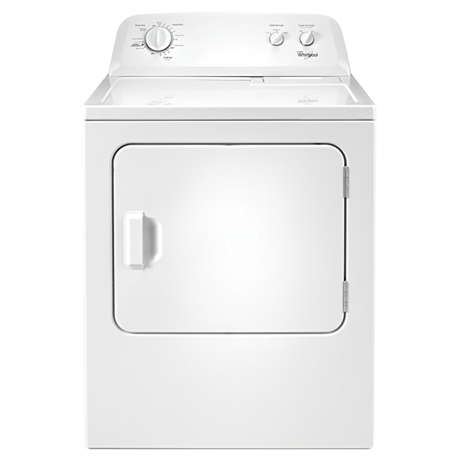 7 cu. ft. Electric Dryer with Wrinkle Prevent(TM)  - White