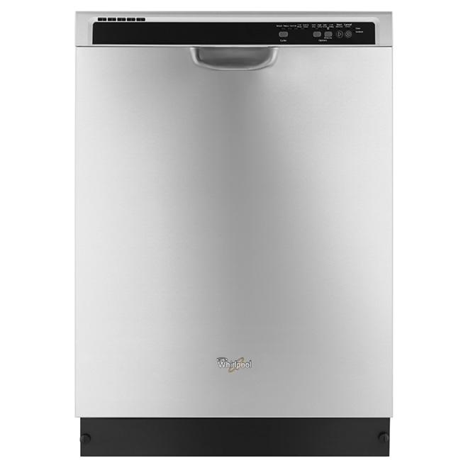 """Lave-vaisselle 24"""", programme de lavage par détection, inox"""