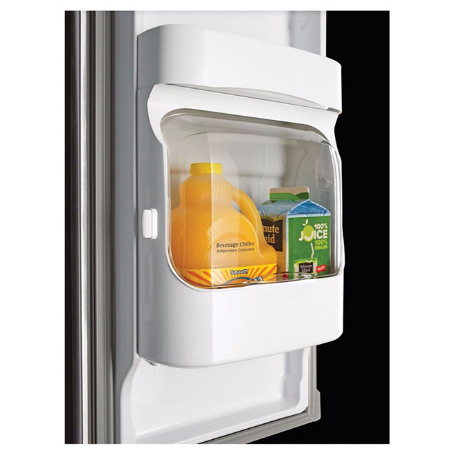 Refrigerator with BeverageChiller - 21.7 cu. ft. -Stainless
