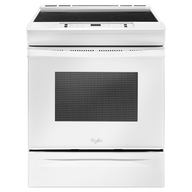 Slide-In Electric Range - 4.8 cu. ft. - White