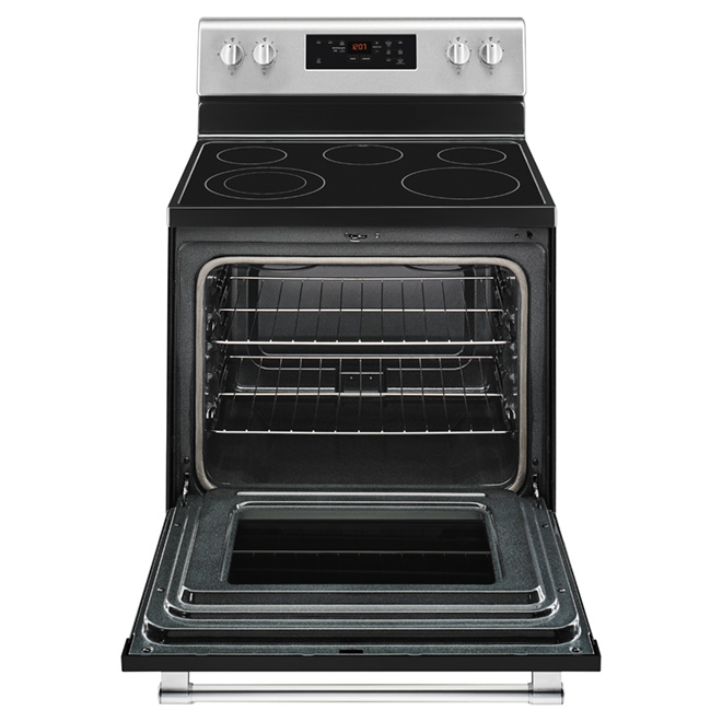Electric Range - Stainless Steel