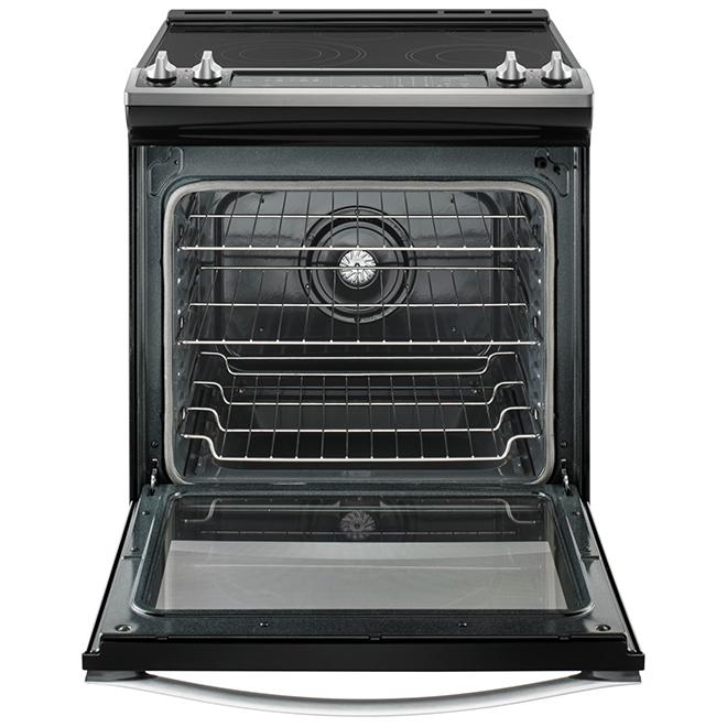Cuisinière électrique encastrable, 6,4 pi³, inox