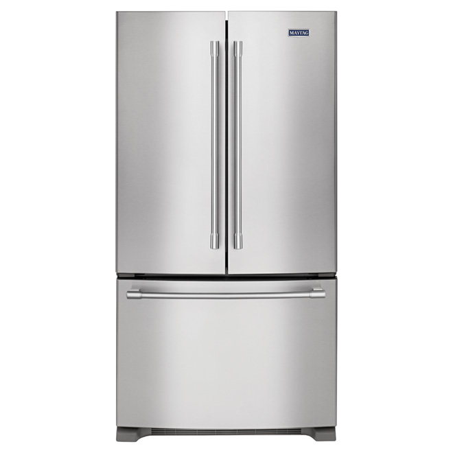 "French-Door Refrigerator  33"" - 22 cu. ft. - Stainless Steel"