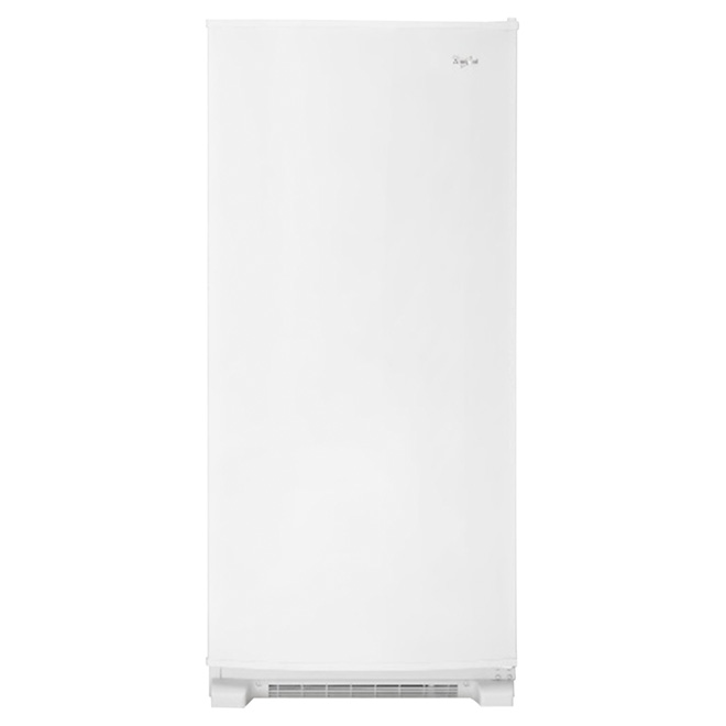 Freezer with Fast Freeze Option- 18 cu. ft. - White