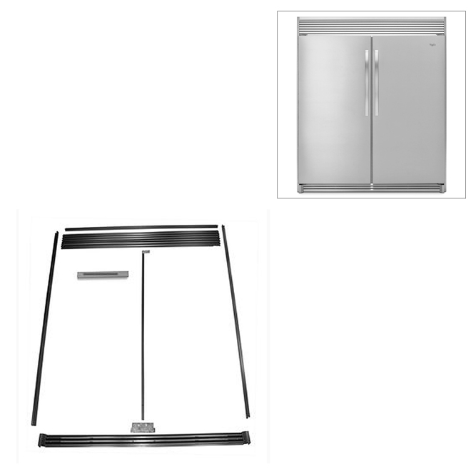 Ensemble d'encastrement pour réfrigérateur et congélateur