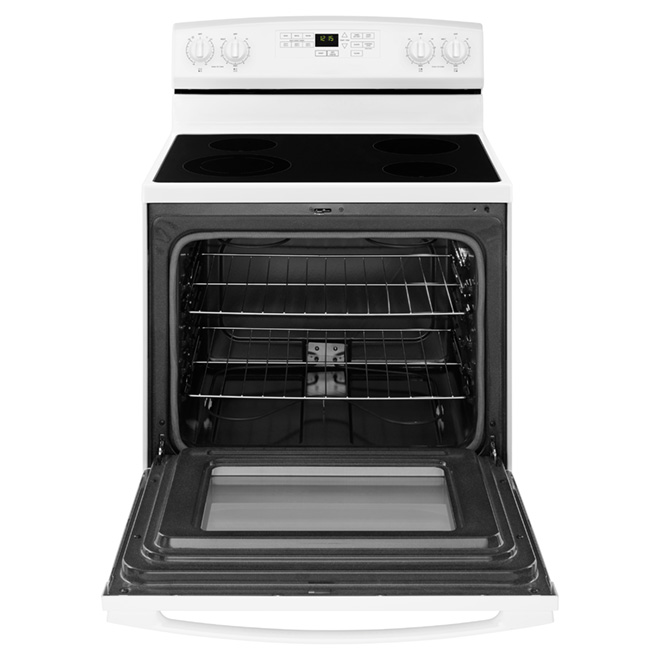 """Self-Cleaning Electric Range 30"""" - White"""