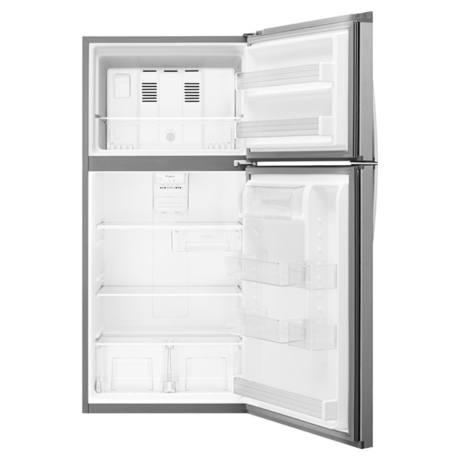 "Top-Freezer Refrigerator -30"" -19.2 cu. ft. -Stainless Steel"