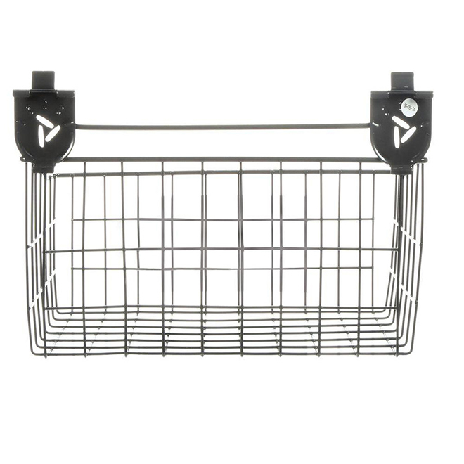 "Wall Storage Wire Basket - 18"" - Granite"