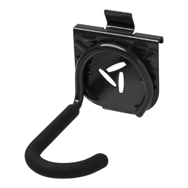 Wall Storage Vertical Bike Hook - Black