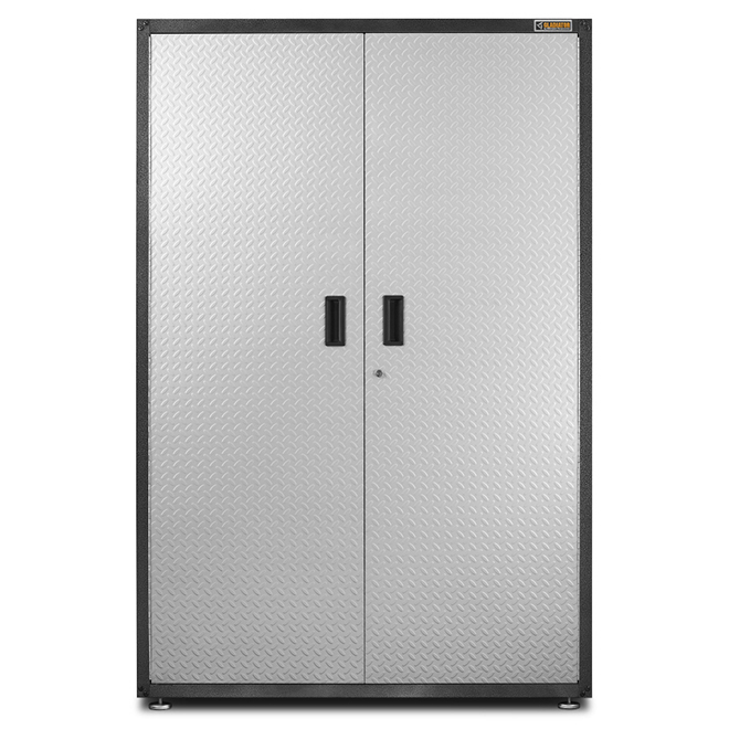 Cabinet for Garage - 48'' x 72'' x 18'' - Diamond Plated