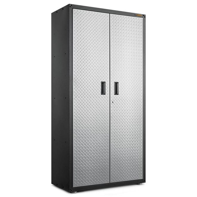 Cabinet for Garage - 36'' x 72'' x 18'' - Diamond Plated