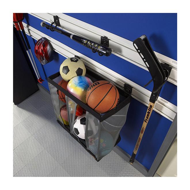 """Wall Storage Basketball Caddy - 24"""" x 24"""" x 12"""""""