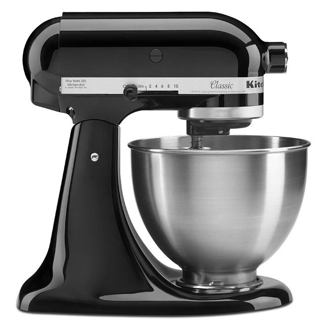 KitchenAid Tilt-Head Stand Mixer - 3.78-L - 10-Speed - Black