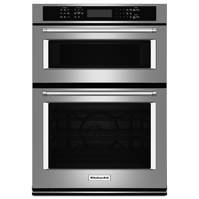 Kitchenaid Four combiné avec convection Even-Heat(MC), 30, inox KOCE500ESS