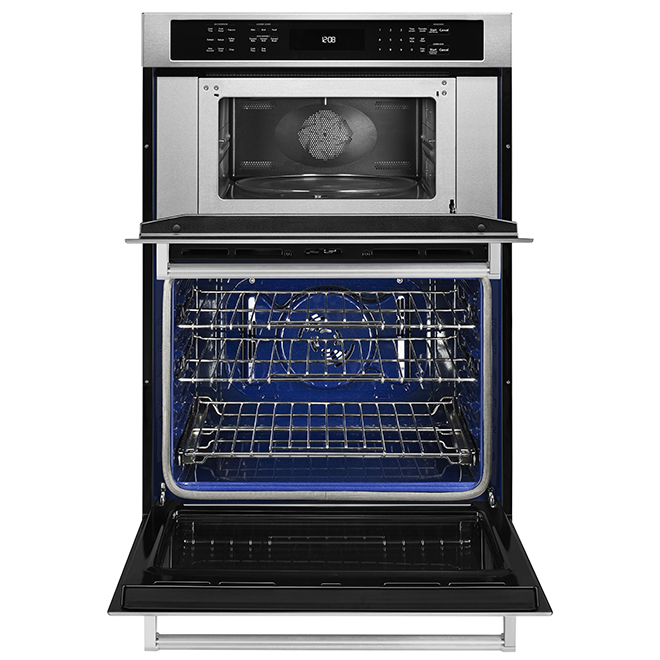 """Oven Combination with Even-Heat(TM) Convection - 30"""" - SS"""