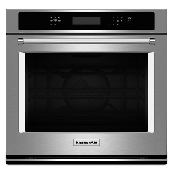 Kitchenaid Four encastré simple à convection, 30'', acier inoxydable KOSE500ESS