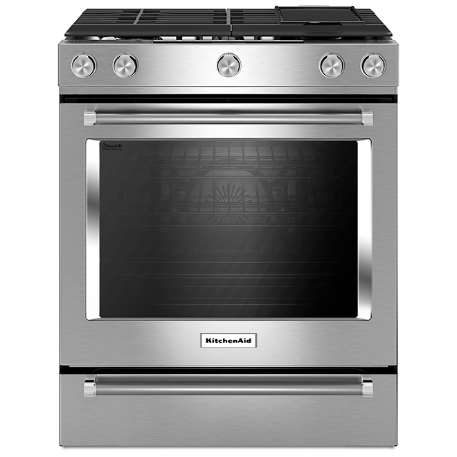 Slide-In Dual-Fuel Convection Range  - 7.1 cu. ft. - SS