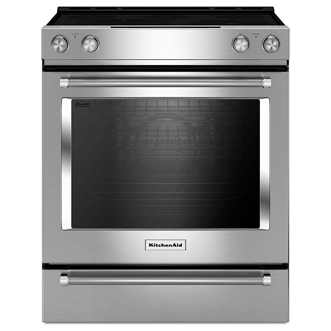 Slide-In Oven with Convection - 7.1 cu. ft. - Stainless Steel
