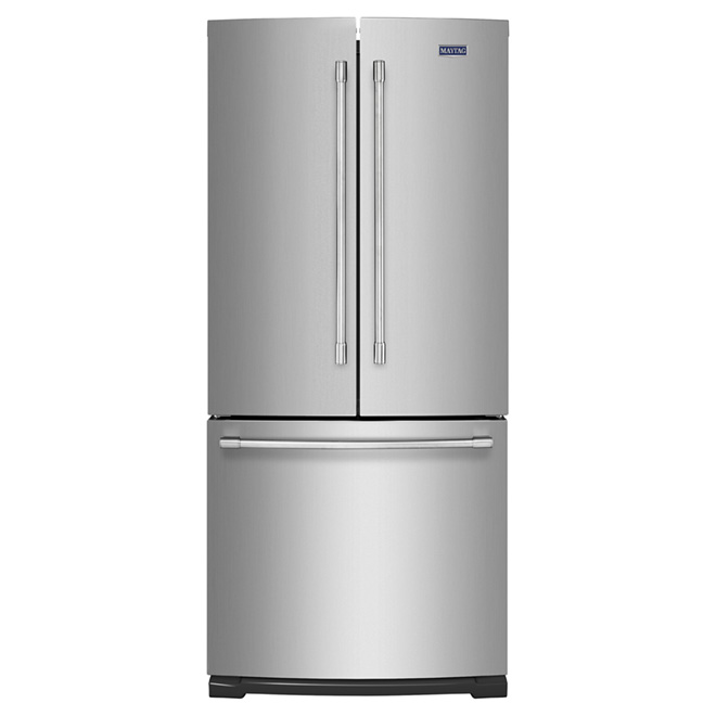 "French-Door Refrigerator - 30"" - 19.6 cu. ft. -  Steel"