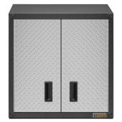 Garage Cabinet - Wall - 28'' x 28'' x 12'' - Diamond Plated