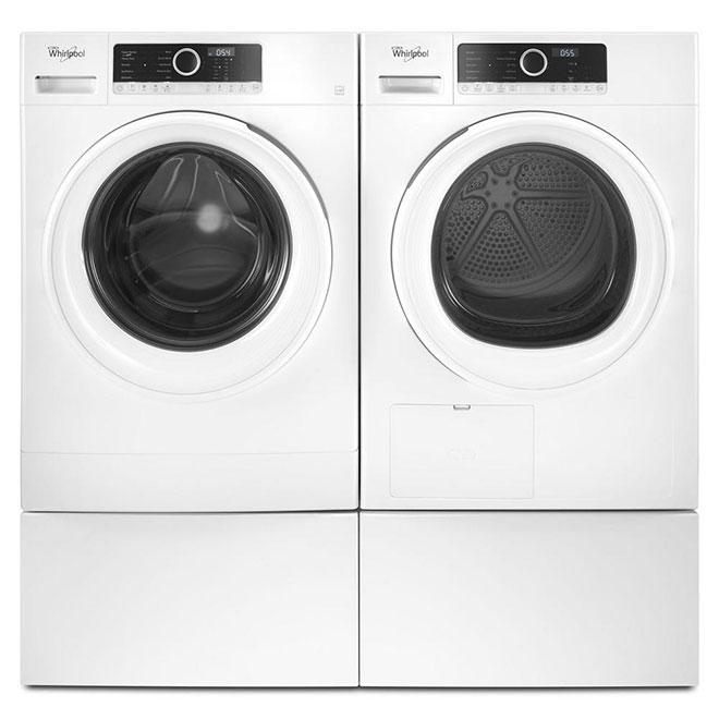 """Washer/Dryer Pedestal - 12"""" - White"""