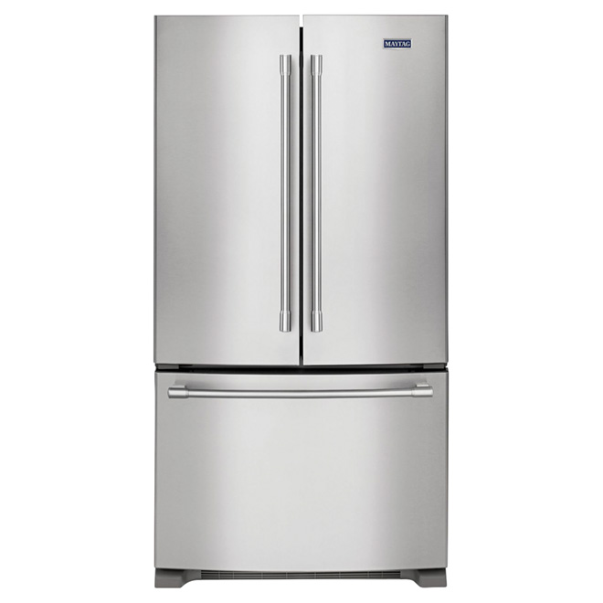 """Counter-Depth Refrigerator - 36"""" - 20 cu. ft. - Stainless"""