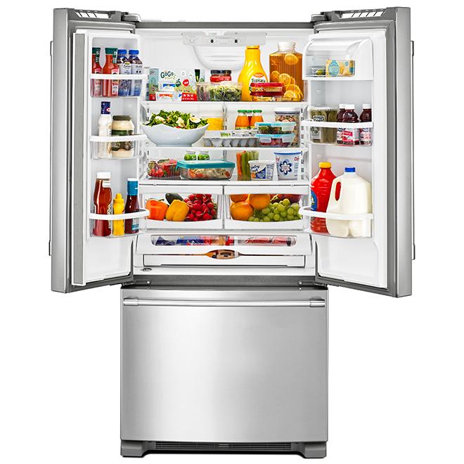 "Maytag(R) French-Door Refrigerator - 36"" - 25.19 cu.ft. - SS"