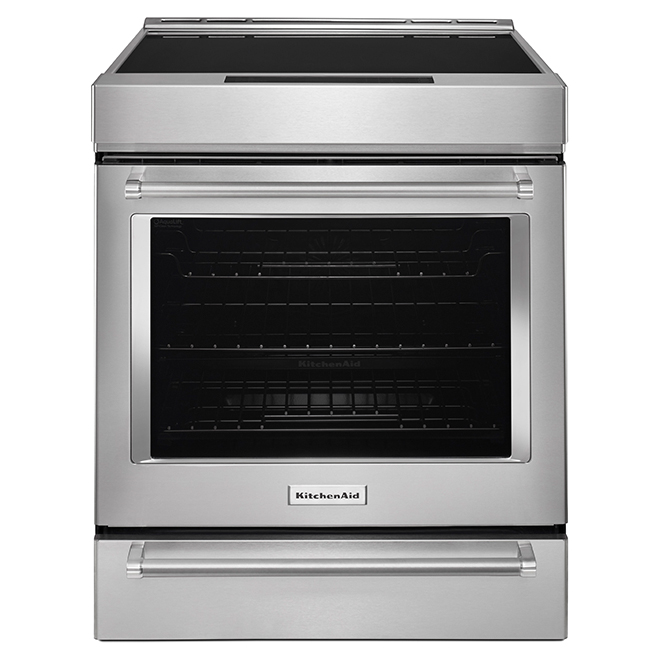 Built-In Induction Range - 7 cu. ft. - Stainless Steel