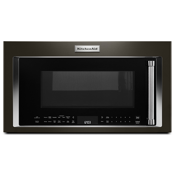 KitchenAid Over-The-Range Microwave - 30-in - 1.9 cu. ft. - Black Stainless Steel