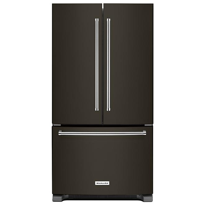 "Refrigerator with ExtendFresh, 36"", 20 cu. ft. - Black SS"