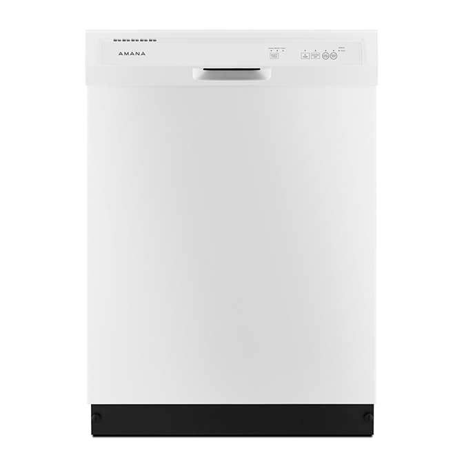 "Built-In Dishwasher - Triple Filter System - 24"" - White"