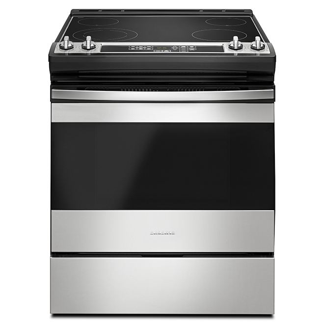 "30"" Slide-In Electric Range - 4.8 cu. ft. - SS"
