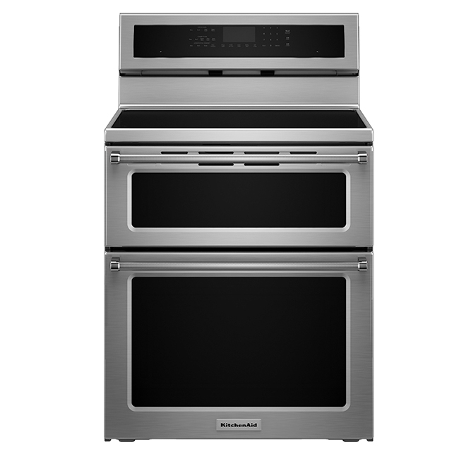 Electric Induction Double Oven Convection Range - 6.7 cu. ft