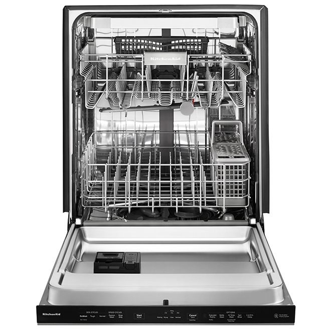 24-in Built-In Dishwasher - Stainless Steel