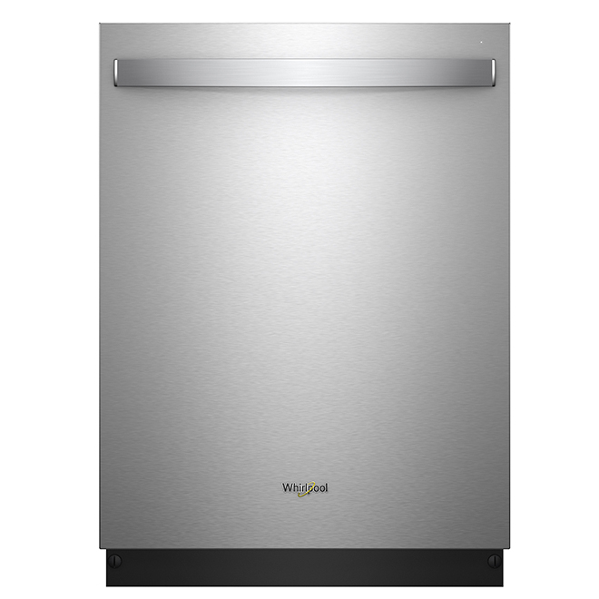 Dishwasher with TotalCoverage Spray Arms - Stainless Steel