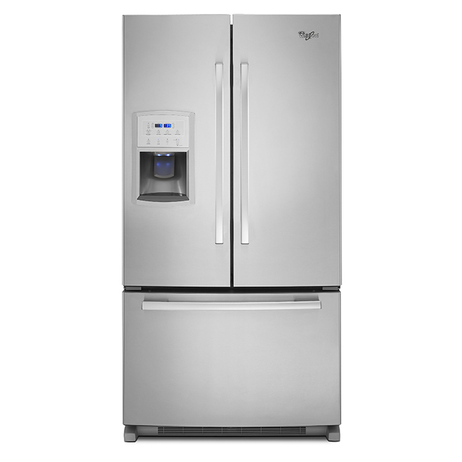"French-Door Refrigerator - 36"" - Stainless Steel"
