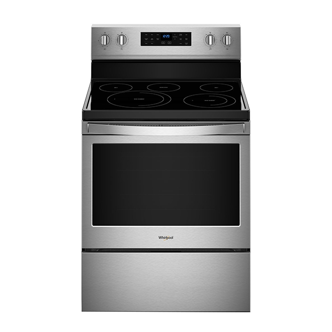 Electric Range with Fan Convection - 5.3 cu. ft. - Stainless