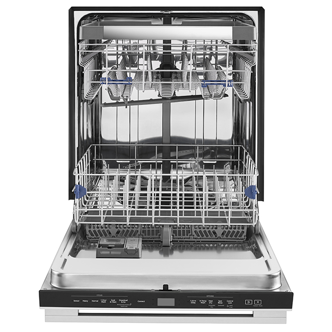 Built-in Smart Dishwasher with Third Rack - Stainless Steel