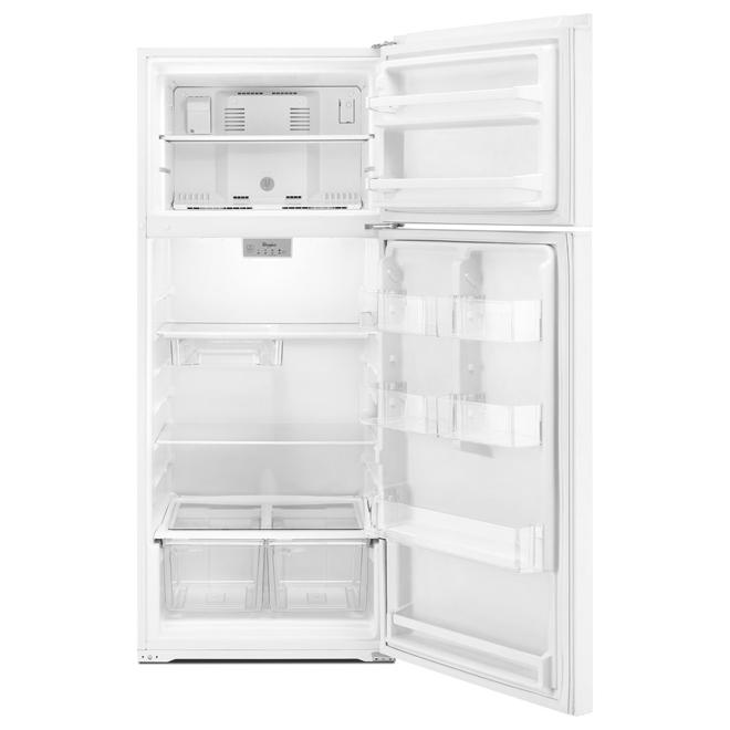 "Top-Freezer Refrigerator - 28"" - 17.64 cu. ft. - White"