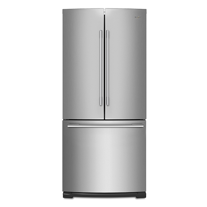 """French-Door Refrigerator - 30"""" - 20 cu. ft - Stainless Steel"""