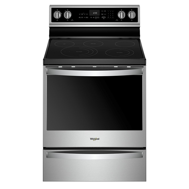 Electric Smart Range - 6.4 cu. ft. - Stainless Steel