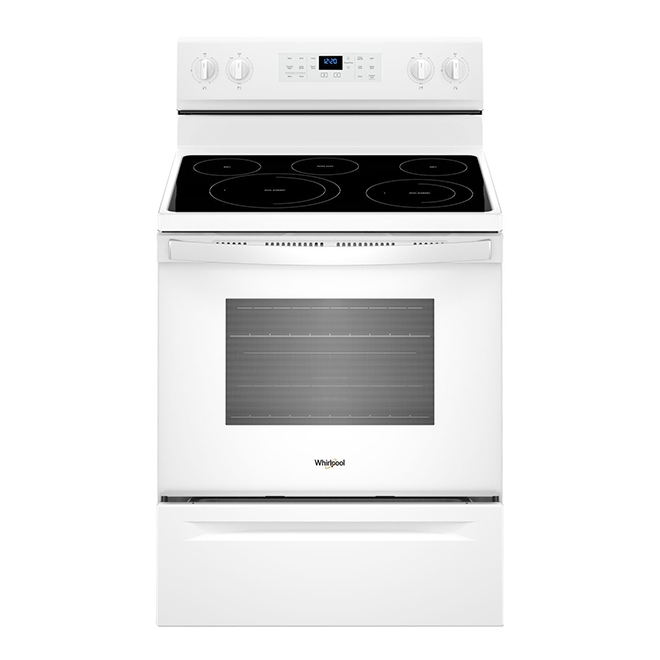 Electric Range with Fan Convection - 5.3 cu. ft. - White