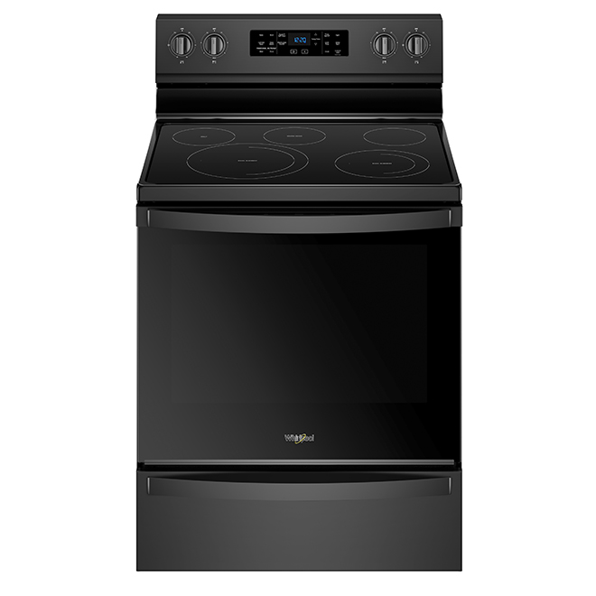 Electric Range with Fan Convection - 6.4 cu. ft. - Black