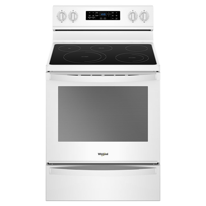 Electric Range with Fan Convection - 6.4 cu. ft. - White