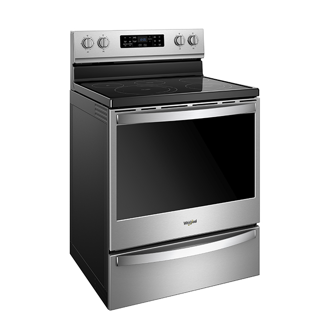 Electric Range with Fan - 6.4 cu. ft. - Stainless Steel
