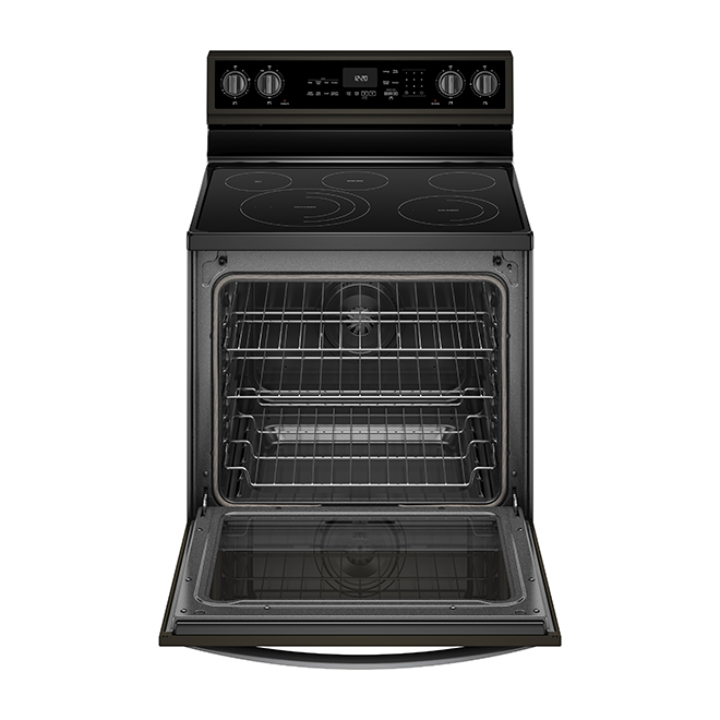 Electric Smart Range - 6.4 cu. ft. - Black Stainless Steel