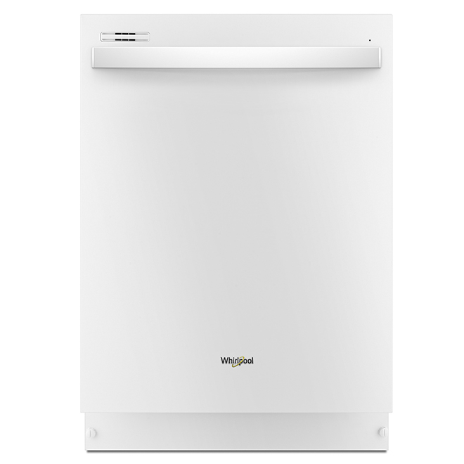 "Built-In Dishwasher with Sensor Cycle - 24"" - White"