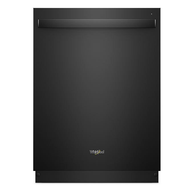 """Built-In Dishwasher with Fan Dry - 24"""" - Black"""