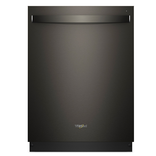 """Built-In Dishwasher with Fan Dry - 24"""" - Black Stainless"""
