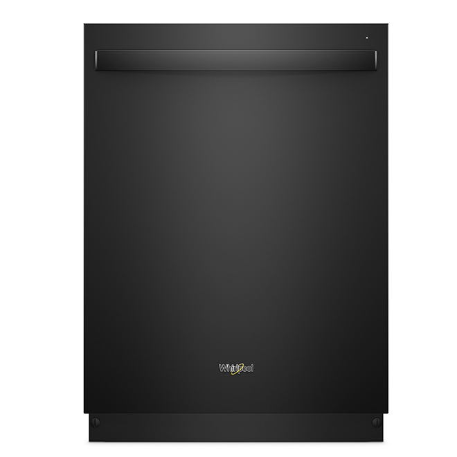 """Dishwasher with TotalCoverage Spray Arms - 24"""" - Black"""